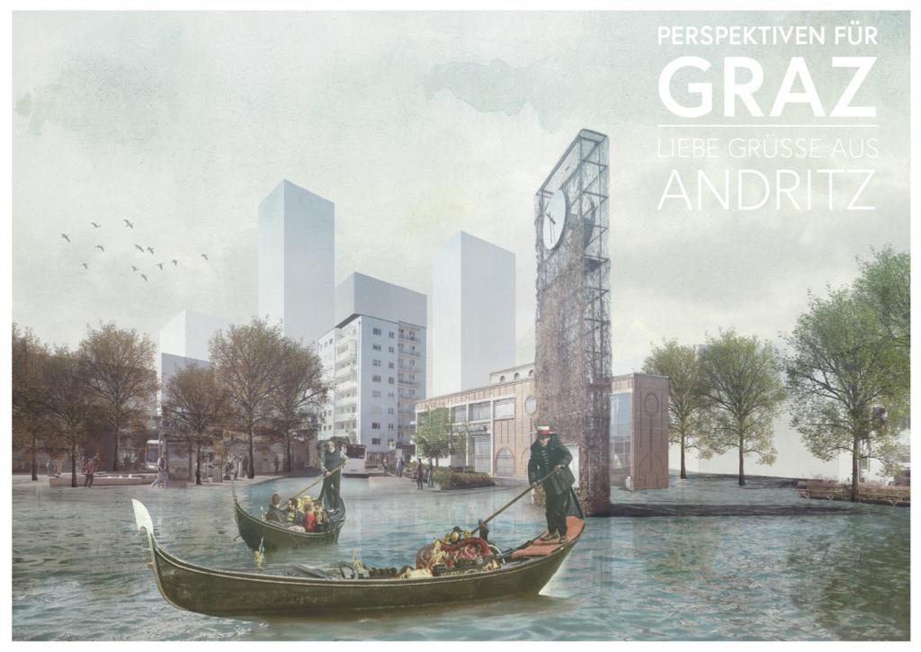 Postkarte Gruß aus Andritz